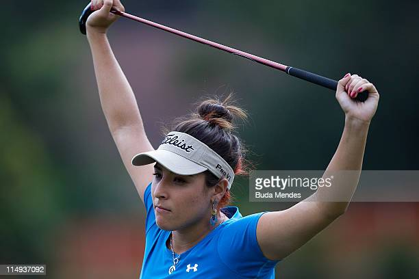 Mariajo Uribe of Colombia during the second round of the HSBC LPGA Brazil Cup at the Itanhanga Golf Club on May 29, 2011 in Rio de Janeiro, Brazil.