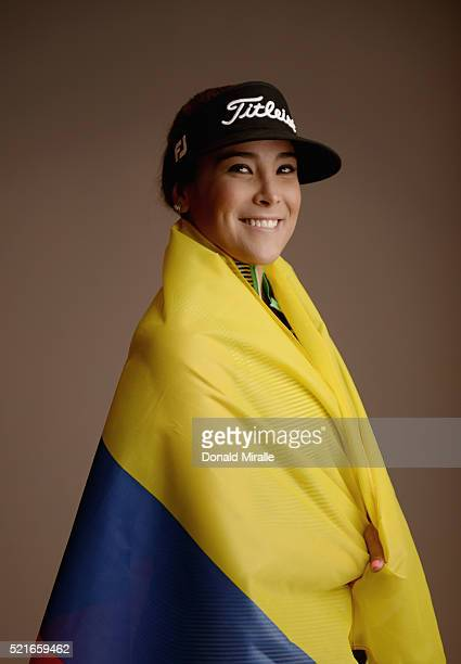 Mariajo Uribe of Colombia poses for a portrait during the KIA Classic at the Park Hyatt Aviara Resort on March 23 2016 in Carlsbad California