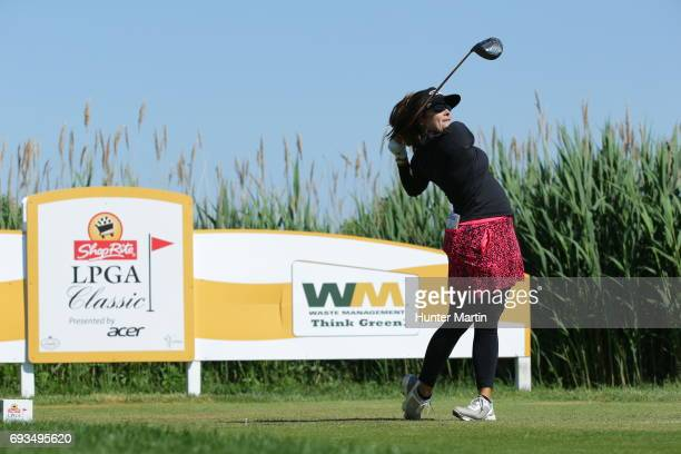 Mariajo Uribe of Columbia during the second round of the ShopRite LPGA Classic presented by Acer on the Bay Course at Stockton Seaview Hotel Golf...