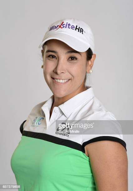 Mariajo Uribe of Columbia poses for a portrait at the Park Hyatt Aviara Resort on March 22 2017 in Carlsbad California