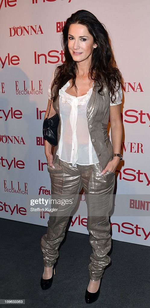 Marialla Ahrens attends the Burda Style Group Cocktail on January 17, 2013 in Berlin, Germany.