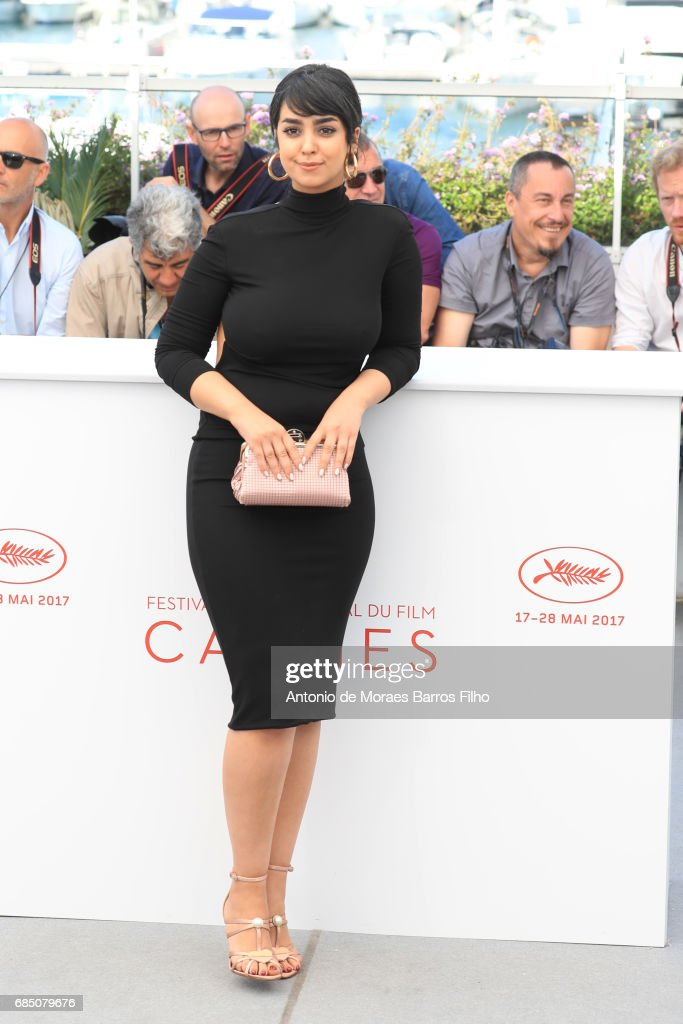 Mariam Al Ferjani attends the 'Alaka Kaf Ifrit (La Belle Et La Meute)' Photocall during the 70th annual Cannes Film Festival at Palais des Festivals on May 19, 2017 in Cannes, France.
