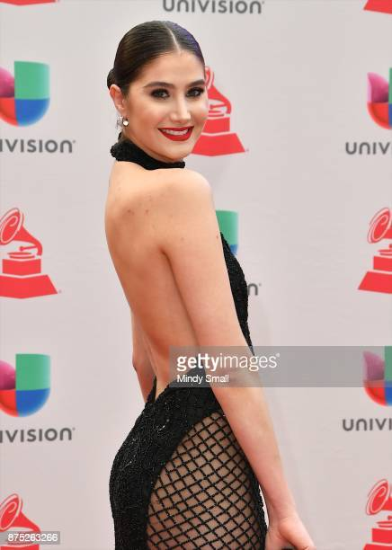 Mariam Habach attends the 18th Annual Latin Grammy Awards at MGM Grand Garden Arena on November 16 2017 in Las Vegas Nevada