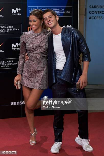 Mariam Hernandez and Eduardo Casanova attend 'La Peste' premiere during the 65th San Sebastian International Film Festival on September 29 2017 in...
