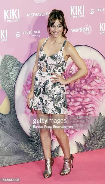 Mariam Hernandez attends 'Kiki el amor se hace' premiere at Capitol cinema on March 30 2016 in Madrid Spain