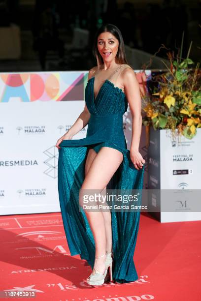 Mariam Hernandez attends '¿Que Te Juegas' premiere at the Cervantes Theater during the 22nd Malaga Film Festival on March 21 2019 in Malaga Spain