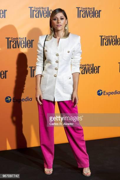 Mariam Hernandez attends the 2018 Conde Nast Traveler awards ceremony at Casino de Madrid on May 10 2018 in Madrid Spain