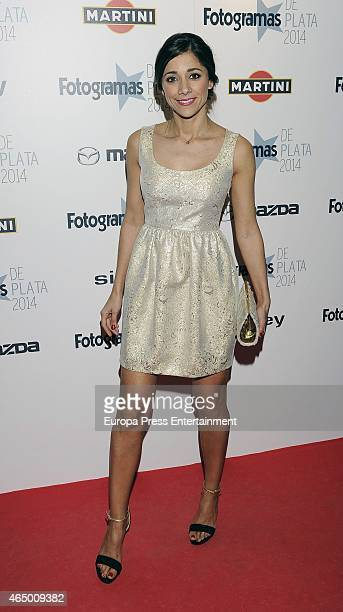 Mariam Hernandez attends the 'Fotogramas Awards' 2015 on March 2 2015 in Madrid Spain