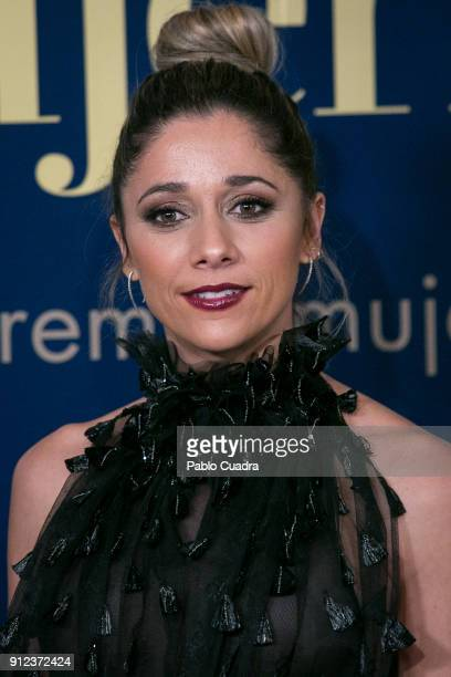 Mariam Hernandez attends the 'Mujer hoy awards at 'Casino de Madrid' on January 30 2018 in Madrid Spain