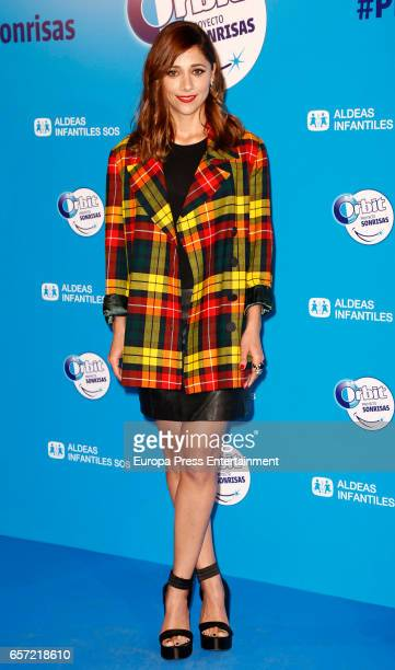 Mariam Hernandez attends the 'Proyecto Sonrisas' party at Principe Pio theatre on March 23 2017 in Madrid Spain