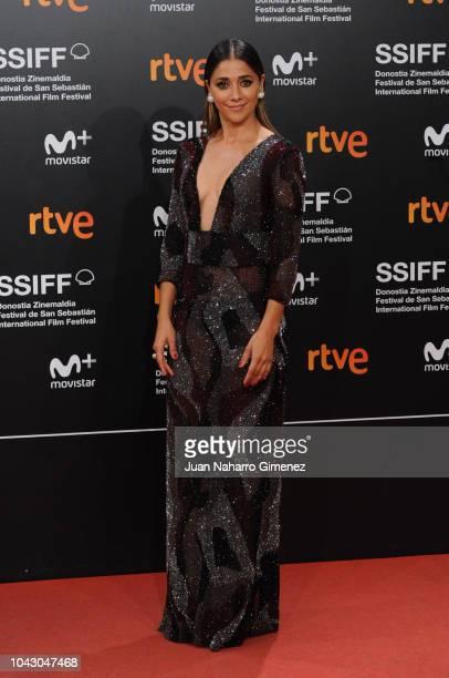 Mariam Hernandez attends the red carpet of the closure gala during 66th San Sebastian Film Festival at Kursaal on September 29 2018 in San Sebastian...