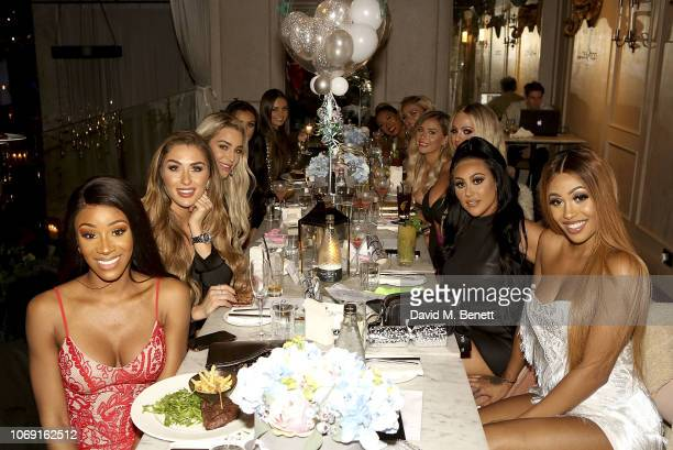 Mariam Musa Darby Ward Taylor Ward Kendall Rae Knight Kaz Crossley Gabby Allen Ellie Brown Holly Hagan Sophie Kasaei and Mettisse Campbell attend the...