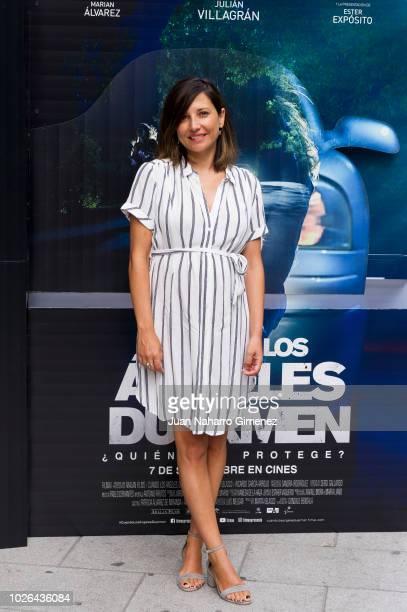 Marian Alvarez attends 'Cuando Los Angeles Duermen' photocall at Ocho Y Medio bookstore on September 3 2018 in Madrid Spain