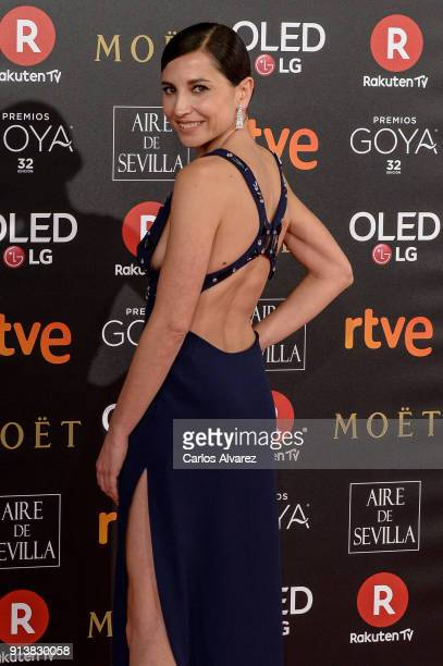 Marian Alvarez attends Goya Cinema Awards 2018 at Madrid Marriott Auditorium on February 3 2018 in Madrid Spain