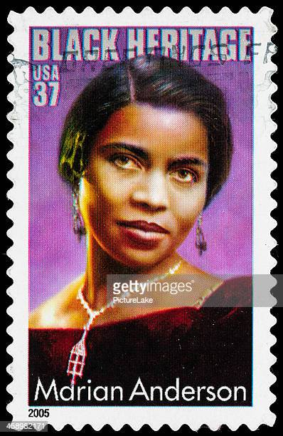 USA Marian Anderson postage stamp