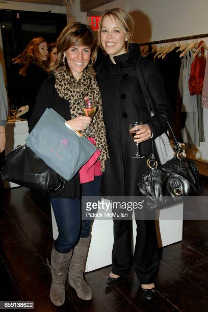Marian Considine and Lauren Bruch attend JEROME DREYFUSS Fall/Winter 2009 Collection at LUDIVINE Uptown at Boutique Ludivine on February 19 2009 in...