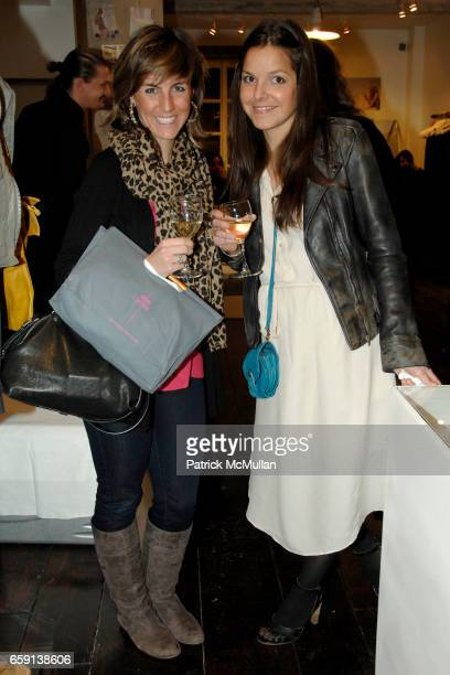 Marian Considine and Ludivine attend JEROME DREYFUSS Fall/Winter 2009 Collection at LUDIVINE Uptown at Boutique Ludivine on February 19 2009 in New...
