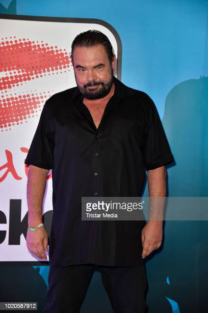 Marian Gold of the band Alphaville attends the Radio Brocken Stars for free open air festival on August 18 2018 in Magdeburg Germany