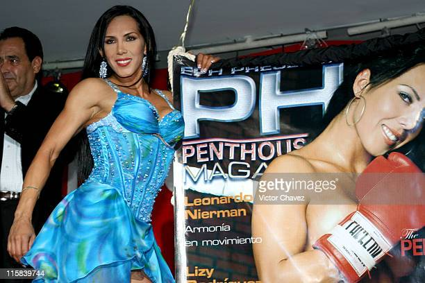 Marian Penthouse Mexico Pet June 2006 Issue during Penthouse Mexico June Issue 2006 Pet Marian Photocall June 8 2006 at Hotel NH Mexico City in...