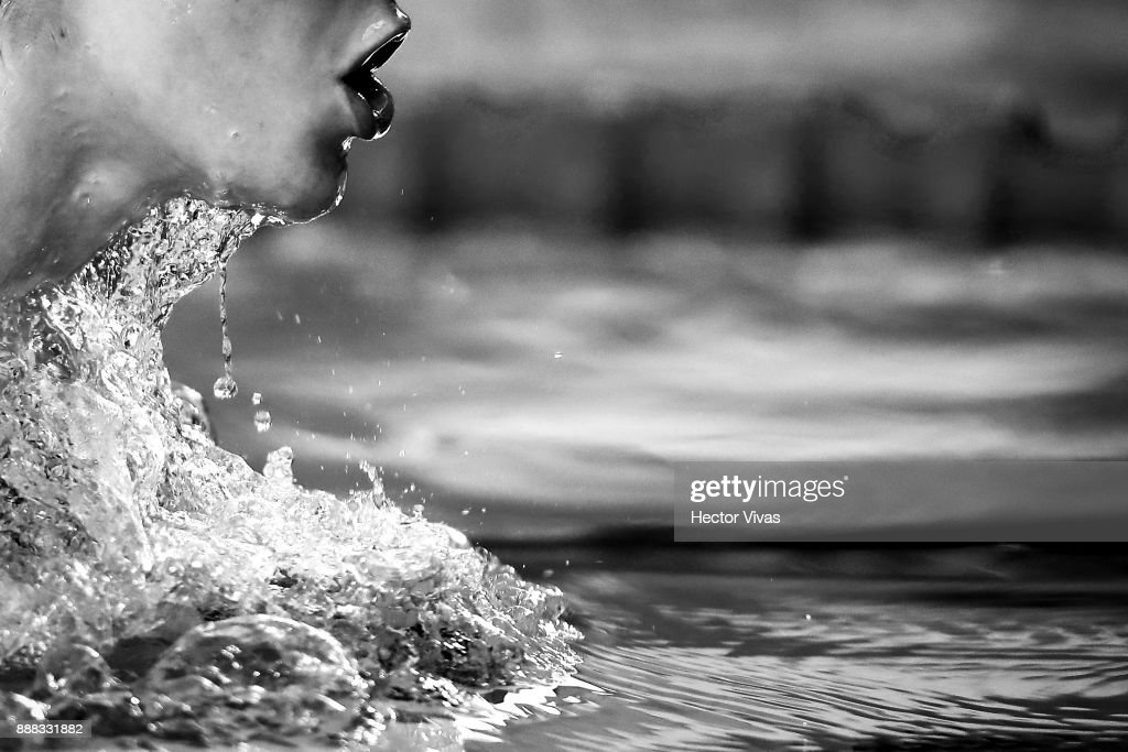 Marian Polo of Spain competes in Women's 200 m Individual Medley SM11-13 during day 5 of the Para Swimming World Championship Mexico City 2017 at Francisco Marquez Olympic Swimming Pool. on November 6, 2017 in Mexico City, Mexico.