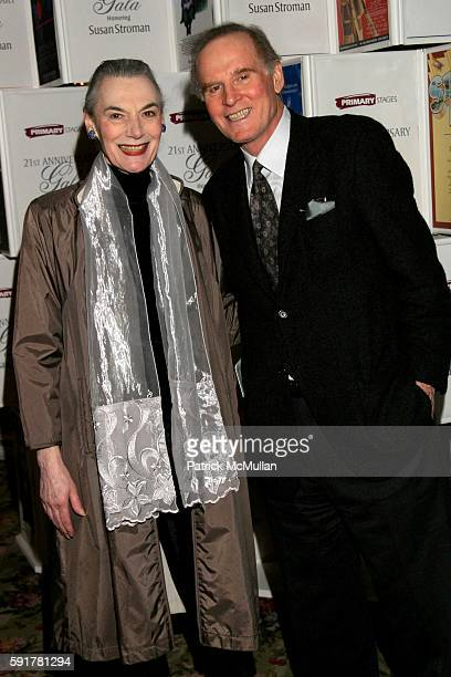 Marian Seldes and Charles Grodin attend Primary Stages Gala Honoring Susan Stroman at Tavern on the Green on November 7 2005 in New York City