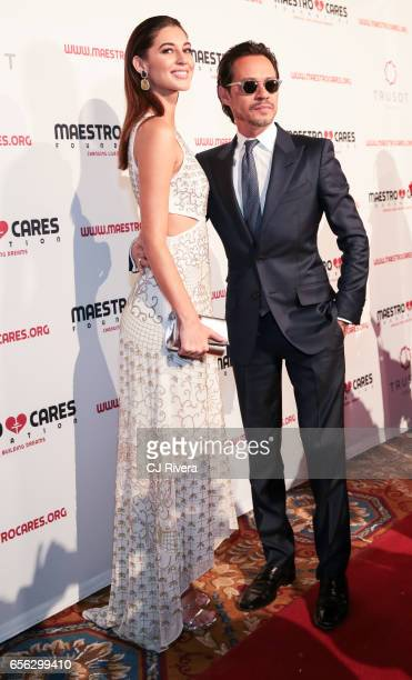 Mariana Downing and Marc Anthony attend the Maestro Cares Foundation's Fourth Annual Changing Lives/Building Dreams Gala at Cipriani Wall Street on...