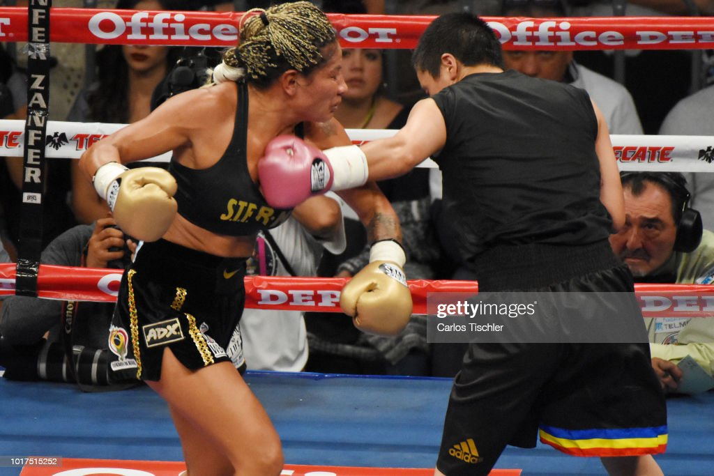 Barby Juarez v Terumi Nuki - WBC Bantamweight World Championship Fight