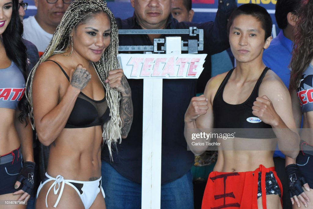 Mariana Juarez v Terumi Nuki and Jackie Nava v Alys Sanchez Weigh-in