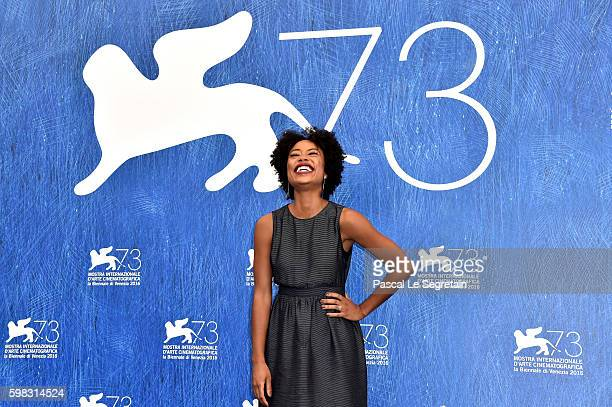 Mariana Nunes attends a photocall for 'Saint George' during the 73rd Venice Film Festival at on September 1 2016 in Venice Italy