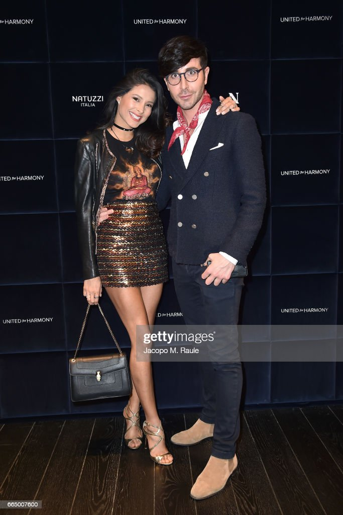 Natuzzi 'United For Armony' Cocktail Party : News Photo