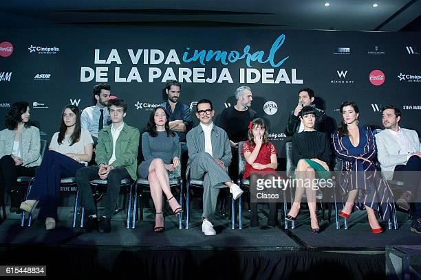 Mariana Trevino poses during the presentation of the movie 'La Vida Inmoral de la Pareja Ideal' on October 17 Mexico City Mexico
