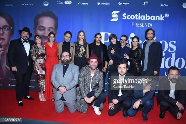Mariana Treviño,Camila Valero, Miguel Rodarte, Cecilia Suarez, Manolo Caro, Ana Claudia Talancon, Rodrigo Chapoy, Bruno Bichir poses for photos...