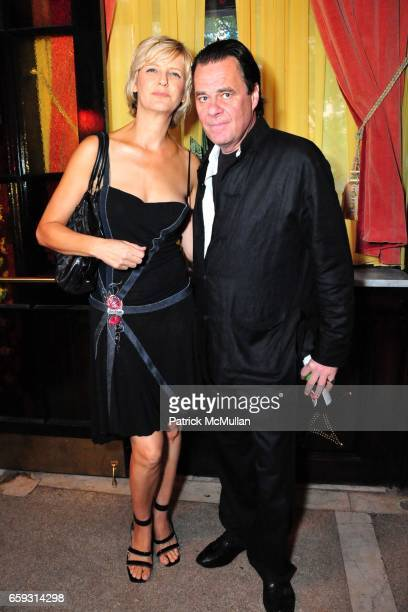 Mariana Verkerk and Willem van Es attend Screening of CHELSEA ON THE ROCKS at The Jane Hotel on September 21, 2009 in New York City.