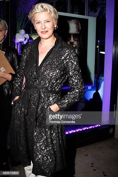 Mariana Verkerk attends Liebeskind Berlin NYC Vernissage Photography Berlin By Sven Marguart Store Party on September 15, 2014 in New York City.