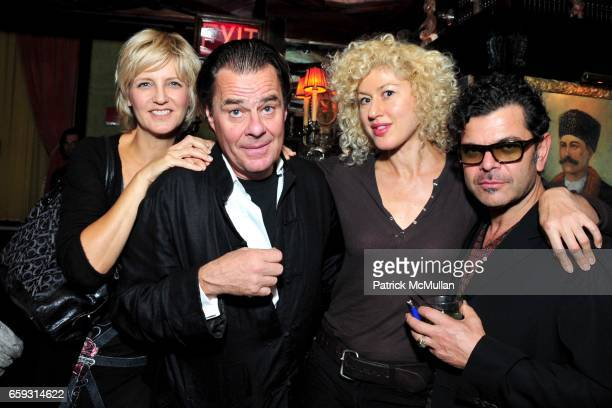 Mariana Verkerk, Willem van Es, Laura Kaplan and Tony guest attend Screening of CHELSEA ON THE ROCKS at The Jane Hotel on September 21, 2009 in New...