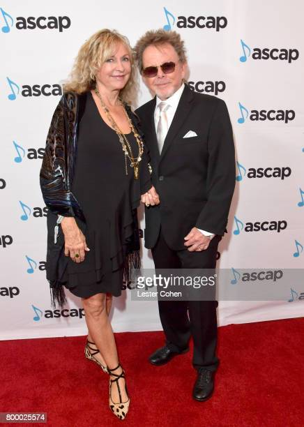 Mariana Williams and ASCAP President Paul Williams at the ASCAP 2017 Rhythm Soul Music Awards at the Beverly Wilshire Four Seasons Hotel on June 22...