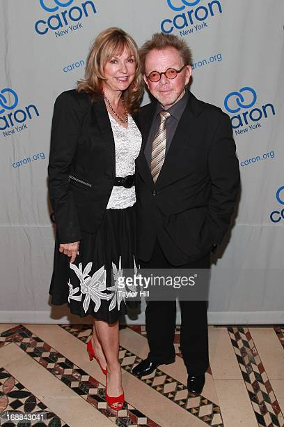 Mariana Williams and Paul Williams attend the 2013 Caron New York Gala at Cipriani 42nd Street on May 15 2013 in New York City