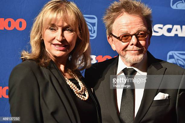 Mariana Williams and Paul Williams attend the ASCAP Centennial Awards at Waldorf Astoria Hotel on November 17 2014 in New York City
