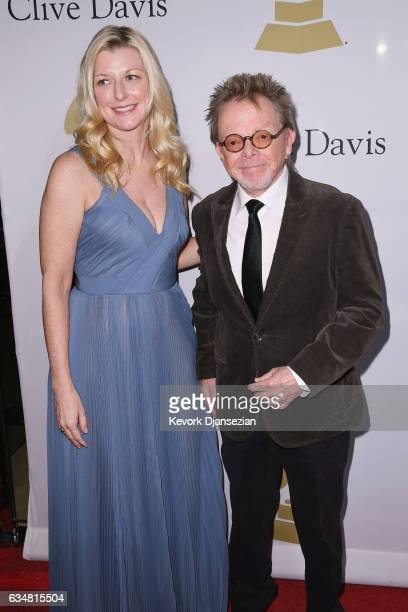 Mariana Williams and songwriter Paul Williams attend PreGRAMMY Gala and Salute to Industry Icons Honoring Debra Lee at The Beverly Hilton on February...