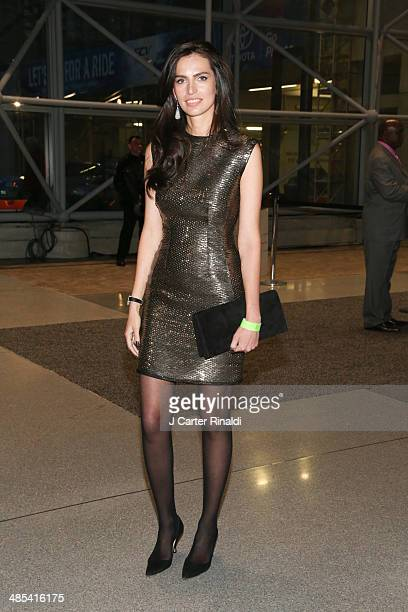 Mariana Zois attends the East Side House Gala Preview during the 2014 New York Auto Show at the Jacob Javits Center on April 17 2014 in New York City