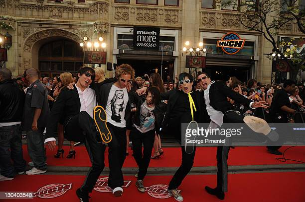 0e25017fca06 Marianas Trench arrive on the red carpet of the 20th Annual MuchMusic Video  Awards at the
