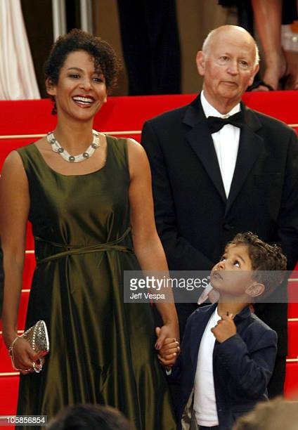 "Mariane Pearl with her son Adam during 2007 Cannes Film Festival - ""A Mighty Heart"" Premiere at Palais des Festival in Cannes, France."