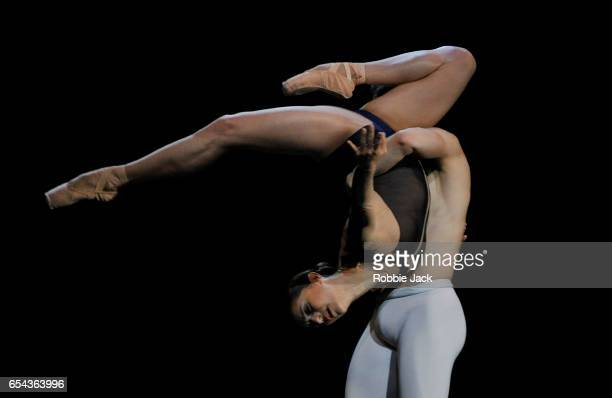 Marianela Nunez and Federico Bonelli in the Royal Ballet's production of David Dawson's The Human Seasons at the Royal Opera House on March 14 2017...