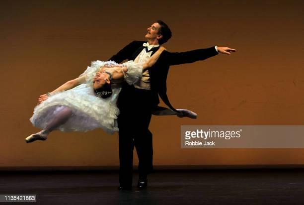 Marianela Nunez and Gary Avis in Merry Widow from the Annette Page Tribute to a Ballerina at The Linbury Theatre The Royal Opera House on March 12...