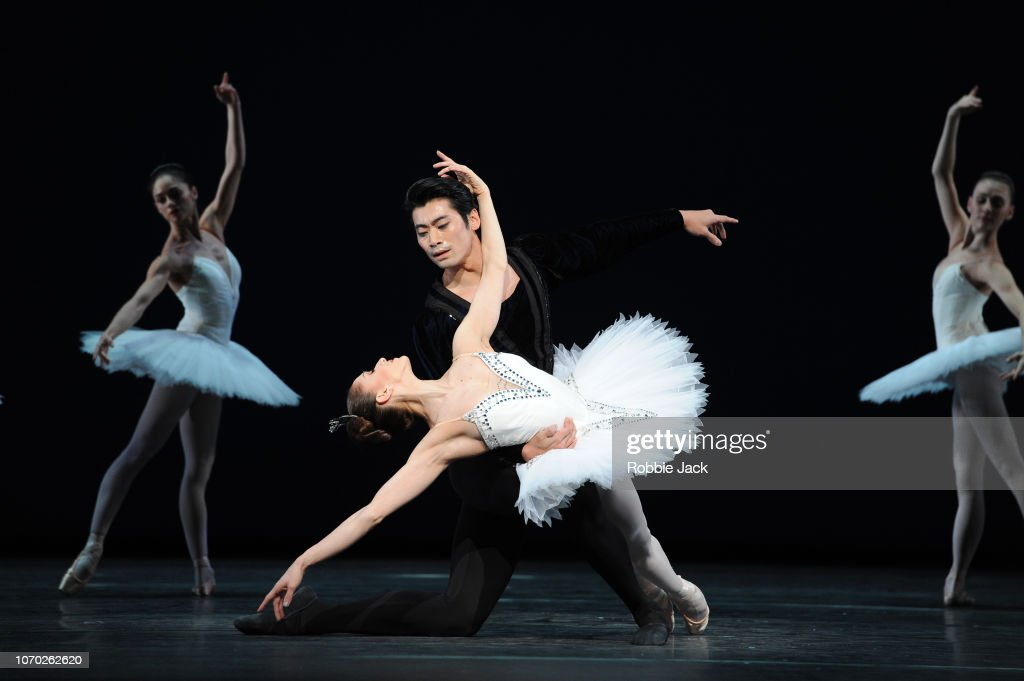 George Balanchine's 'Symphony In C' At The Royal Opera House : News Photo