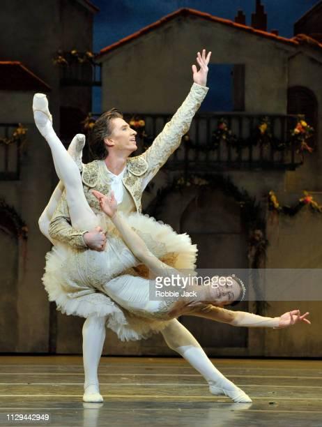 Marianela Nunez as Kitri and Vadim Muntagirov as Basilio inThe Royal Ballet's production of Carlos Acosta's Don Quixote at The Royal Opera House on...