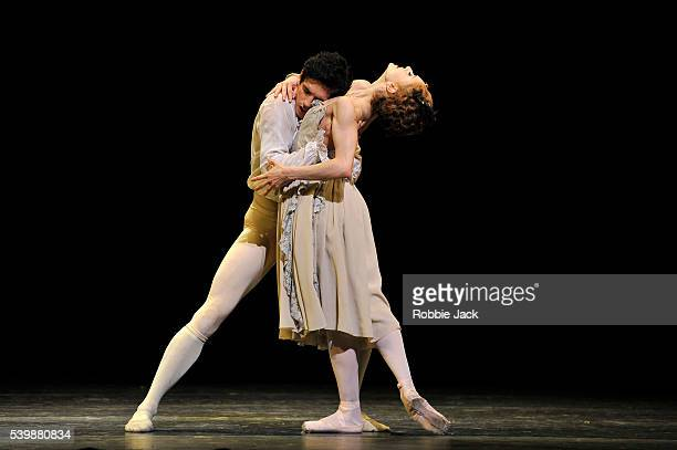Marianela Nunez as Manon and Federico Bonelli as Des Grieux in the Royal Ballet's production of Kenneth MacMillan's Manon at the Royal Opera House...