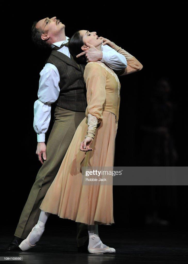 """Kenneth MacMillan's """"Winter Dreams"""" At The Royal Opera House London : News Photo"""