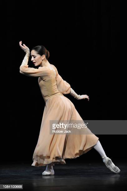 Marianela Nunez as Masha in Kenneth MacMillan's Winter Dreams at The Royal Opera House on December 17 2018 in London England