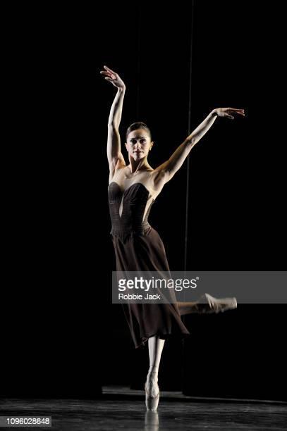 Marianela Nunez in Asphodel Meadows at The Royal Opera House on January 17, 2019 in London, England.